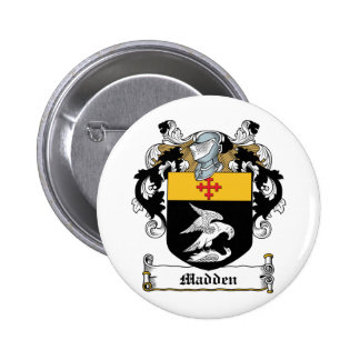 Madden Family Crest Button