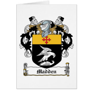 Madden Family Crest Greeting Card