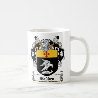 Madden Family Crest Coffee Mug