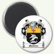 Madden Family Crest Magnet