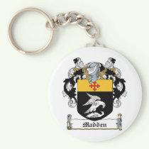 Madden Family Crest Keychain