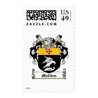 Madden Family Crest Postage Stamp