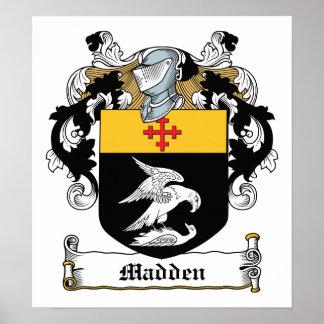 Madden Family Crest Poster