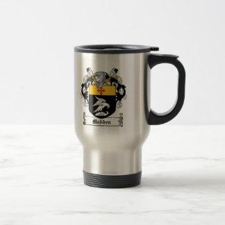 Madden Family Crest Travel Mug