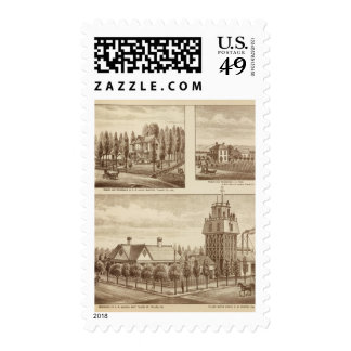 Madden residence, Water Works Postage Stamps
