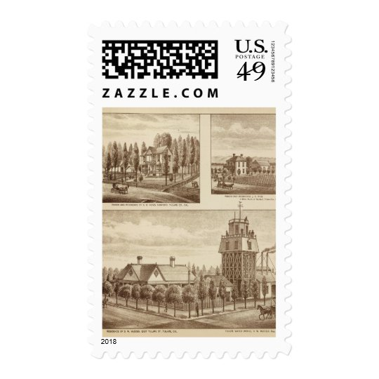 Madden residence, Water Works Postage