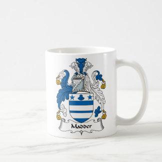 Madder Family Crest Classic White Coffee Mug