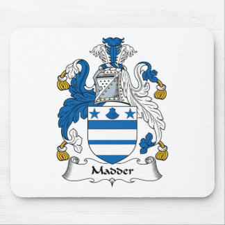 Madder Family Crest Mouse Mats