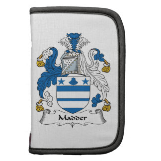Madder Family Crest Planners