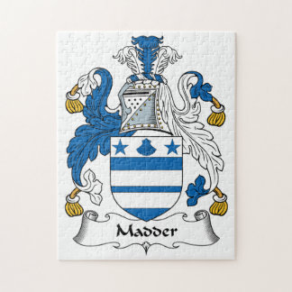 Madder Family Crest Puzzles