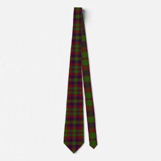Madder Tartan Tie