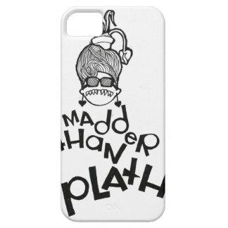 Madder Than Plath iPhone 5 Case