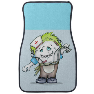 MADDI ALIEN DOC Cartoon Car Mats (Front) (set of 2