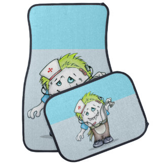 MADDI ALIEN DOC Cartoon Car Mats Full Set (setof2)