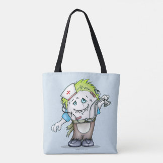 MADDI ALIEN MONST  All-Over-Print Tote Bag M