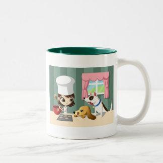 Maddi and the Hungry Pups Coffee Mug