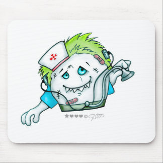 MADDI DOCTOR NURSE  DRY MOUSE PAD Monster