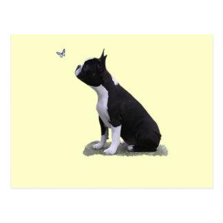 maddi & the butterfly postcard