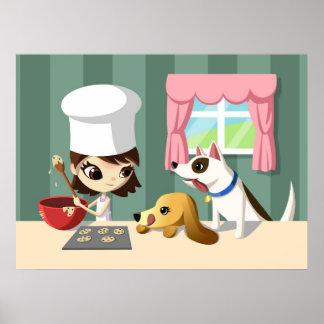 Maddi y los perritos hambrientos póster