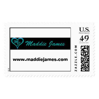 Maddie James postage stamps