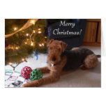"""Maddie says, """"Merry Christmas!"""" Card"""