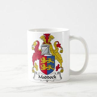 Maddock Family Crest Classic White Coffee Mug