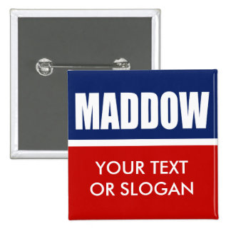 MADDOW 2012 PINBACK BUTTONS