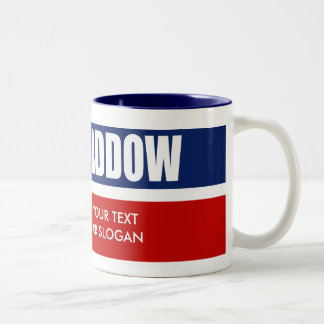 MADDOW 2012 Two-Tone COFFEE MUG