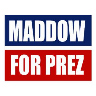 MADDOW 2012 POSTCARD