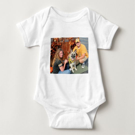 Maddux - German Shepherd Photo-05 Baby Bodysuit