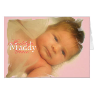 Maddy basic card ...