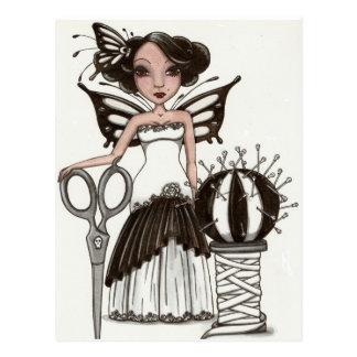 Maddy Couture Izabelle postcard by Maigan Lynn