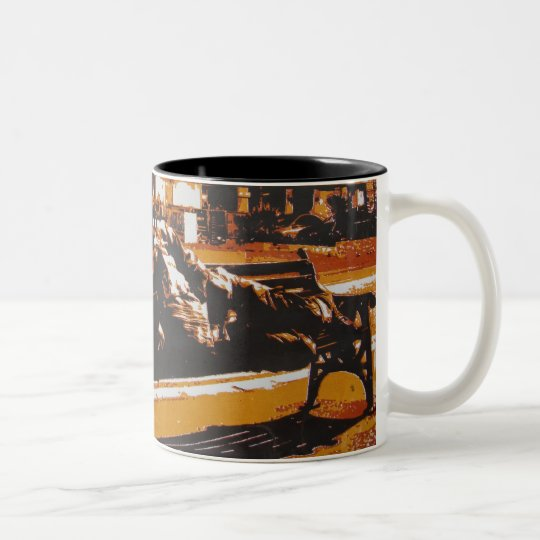 Maddy Dickerson Two-Tone Coffee Mug