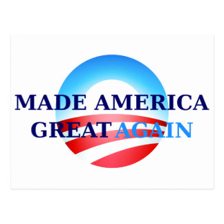 Made America Great Again postcards