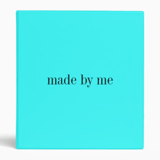 Made By.... Vinyl Binder