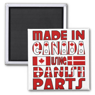 Made Canada Danish Parts Magnet