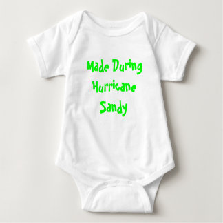 Made During Hurricane Sandy Baby Bodysuit