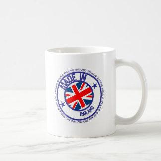 made england classic white coffee mug