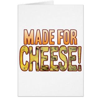 Made For Blue Cheese Card