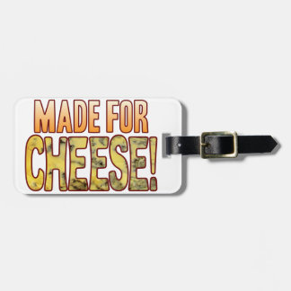 Made For Blue Cheese Luggage Tag
