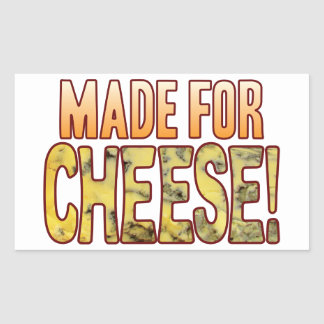 Made For Blue Cheese Rectangular Sticker