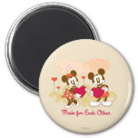 Made for Each Other 2 Inch Round Magnet