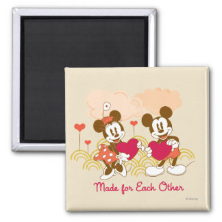 Made for Each Other 2 Inch Square Magnet
