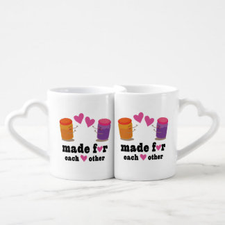 Made For Each Other Cute Couples Mug Set