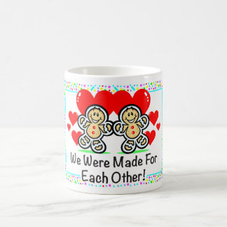 """Made For Each Other"" Mug"