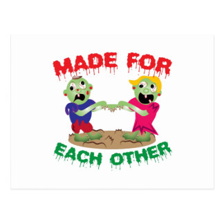 Made For Each Other Postcard