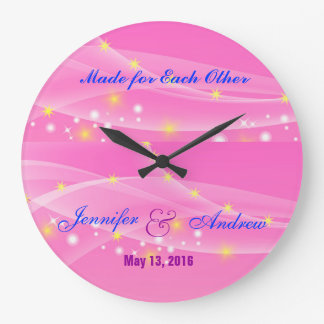 Made for Each Other Wedding Clock for Newly Weds