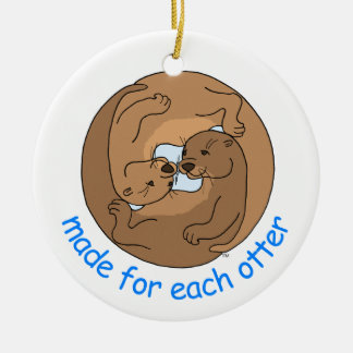 Made For Each Otter Christmas Tree Ornament