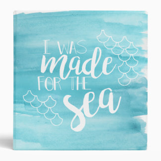 Made For The Sea Watercolor Binder