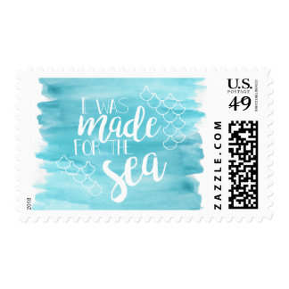 Made For The Sea Watercolor Stamps